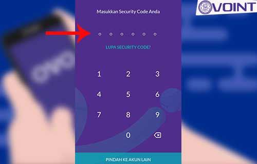 Masukkan Security code
