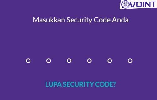 Salah Memasukkan Security Code Lebih Dari 5 Kali