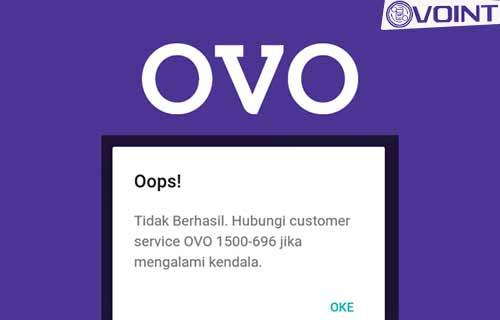 Tidak Bisa Login Aplikasi OVO