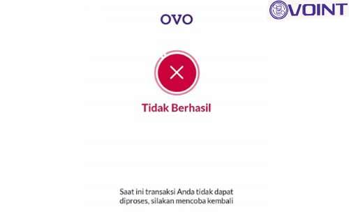 Transfer OVO Belum Diterima
