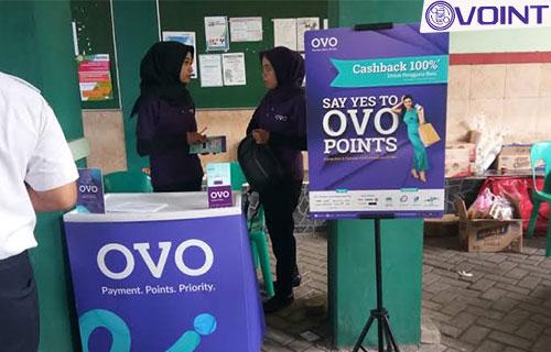 Booth OVO Malang Alamat