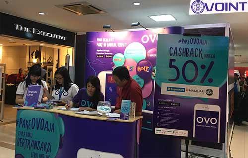 Alamat Booth OVO Medan