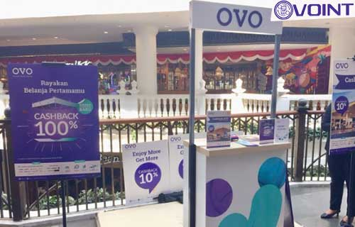 Alamat Booth OVO Pusat 1