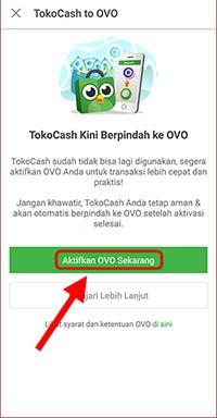 Aktifkan OVO Sekarang