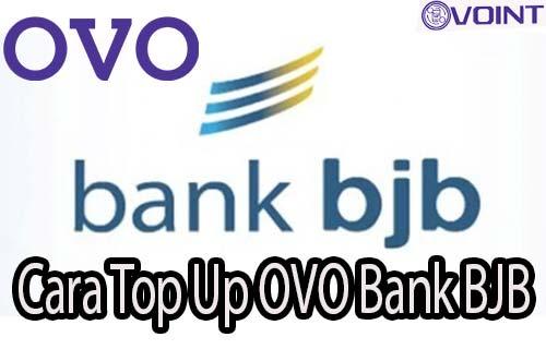Cara Top Up OVO Bank BJB
