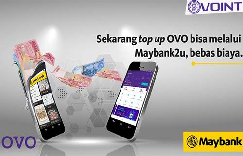 Cara Top Up OVO Lewat Maybank