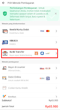 Bank Transfer OVO