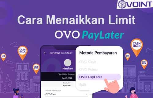 Cara Menaikkan Limit OVO PayLater