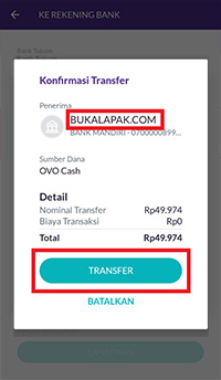 Menu konfirmasi transfer 1