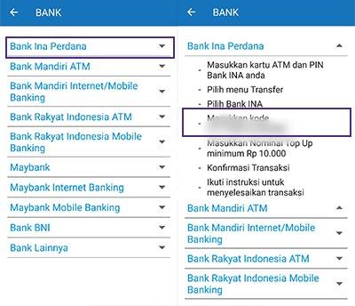 pilih Bank Ina Perdana