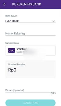 transfer OVO ke iSaku