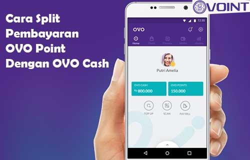 Cara Split Pembayaran OVO Point