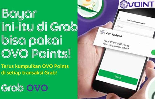Cara Bayar Grab Pakai OVO Point Terbaru