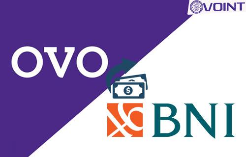 Cara Transfer OVO Ke Bank BNI Terbaru