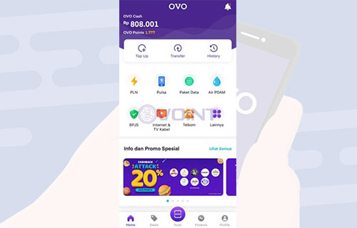 Silahkan Buka Aplikasi OVO