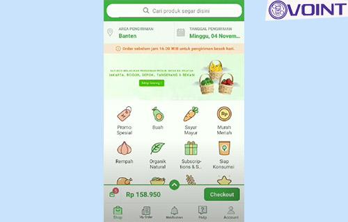 1 Buka Aplikasi Sayurbox