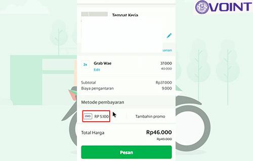 3 Pilih Metode Pemabayran Pakai OVO Cash
