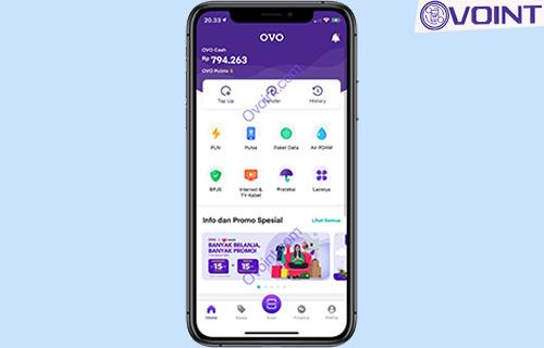 1 Buka Aplikasi OVO