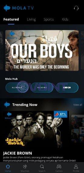 Buka Aplikasi Mola TV