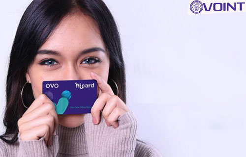Pembayaran Belanjaan Menggunakan OVO HiCard