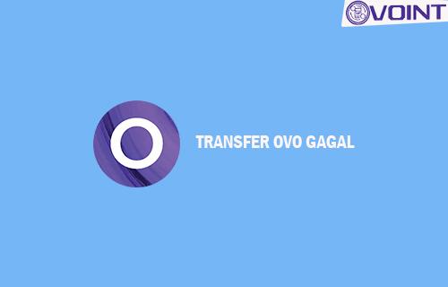 Transfer OVO Gagal