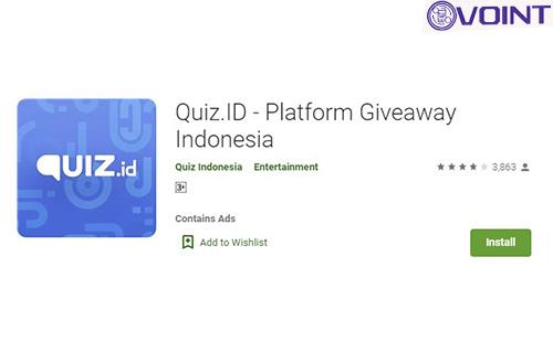 Aplikasi Penghasil Saldo OVO Quiz.ID