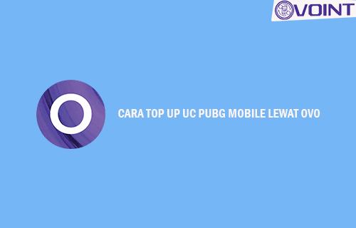 Cara Top Up PUBG Mobile Lewat OVO