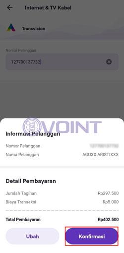 Detail Pembayaran