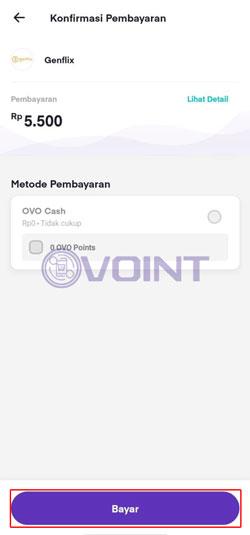Konfirmasi Pembayaran Berlangganan Genflix