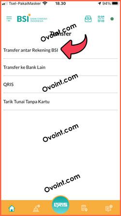 10 Pilih Transfer Antar Rekening
