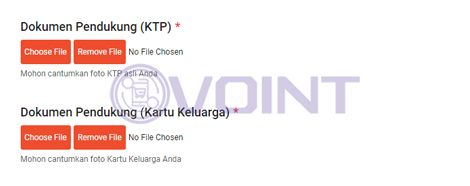 4 UPload Foto KTP KK