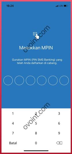 Masukkan MPIN Transaksi