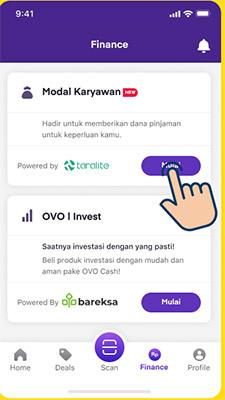 Pinjaman Modal Karyawan OVO