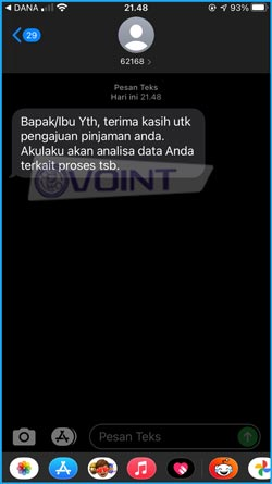 11 Pemberitahuan SMS