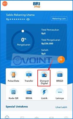 2 Pilih Dompet Digital