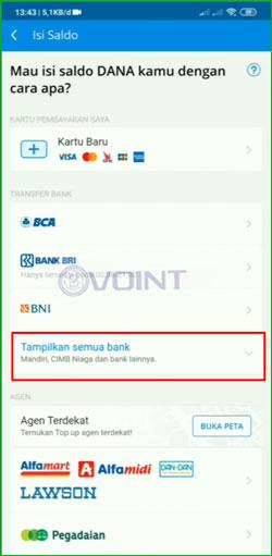 3 Pilih Tampilkan Semua Bank