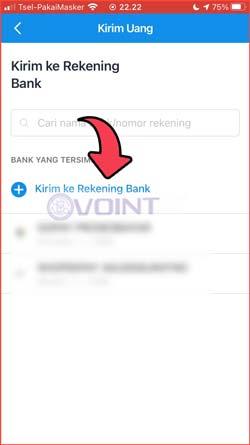 4 Kirim ke Rekening Bank