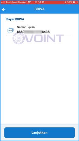5 Input Nomor VA