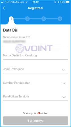 5 Lengkapi Data Diri