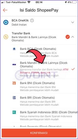 5 Pilih Bank