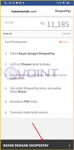 7 Pilih Bayar Dengan ShopeePay