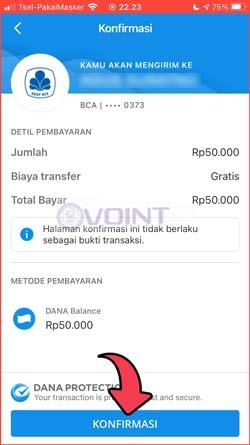8 Konfirmasi Transfer