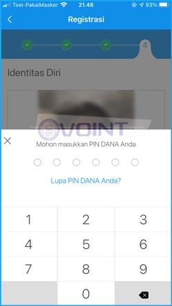 9 Masukkan PIN DANA 1