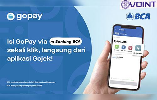 Cara Isi Saldo GoPay Lewat m Banking BCA