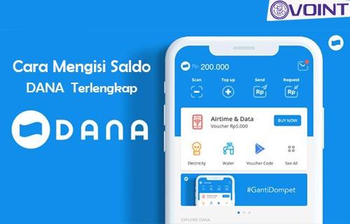 Cara Mengisi Saldo Dana Lewat ATM Minimarket Mobile Banking