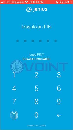Input Pin Login