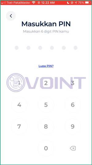 Masukkan PIN Transaksi 1