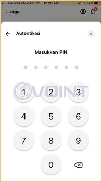 Masukkan PIN Transaksi