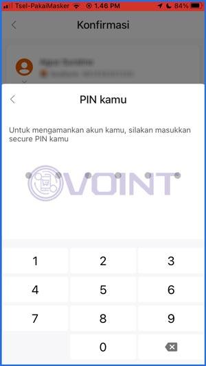 11 Masukkan PIN Seabank