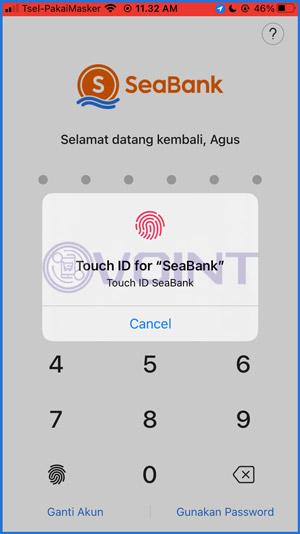 2 Input Password